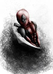 Deadpool portrait by Jojo66punt0