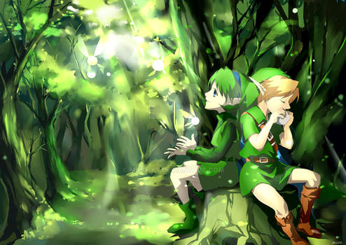 link and saria