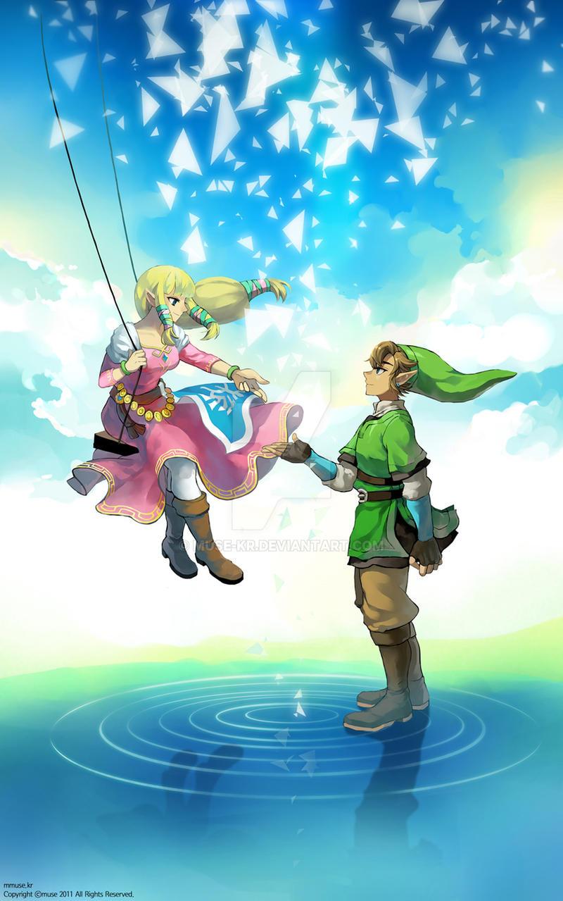 sw link and zelda