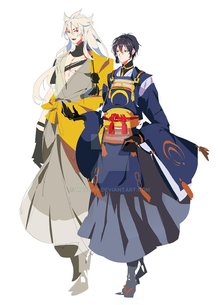 rough comissino_touken by muse-kr