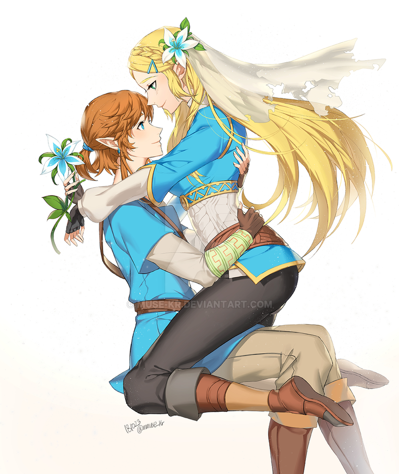 BOTW zelink by muse-kr
