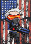Soldier 76 Small Print