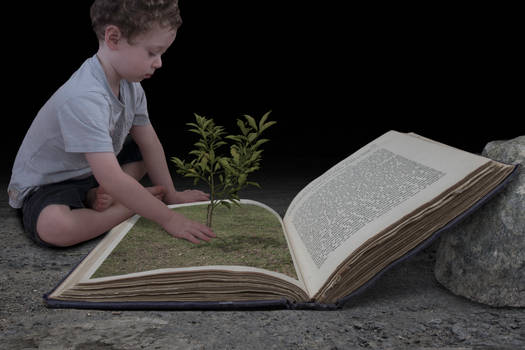 Child and Book 2