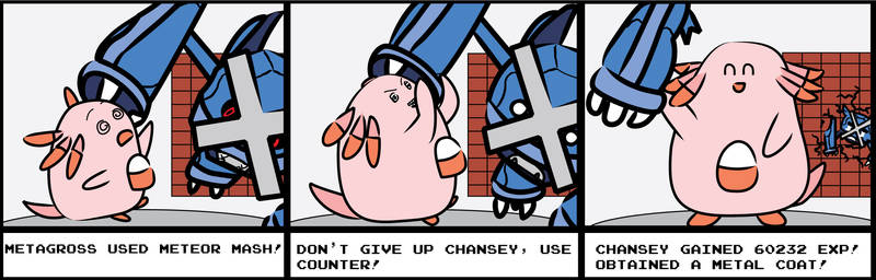 Chansey used Counter