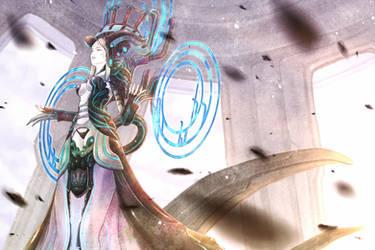 Machinery Goddess by clarityblue
