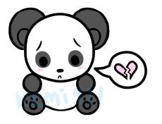 cute panda by kemi911