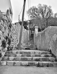 Stairs in Dubrovnik by PhysaliaPhysalis-88