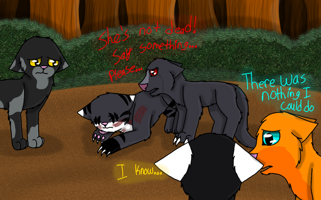 Warrior Cats Gore