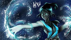 Nya from ninjago