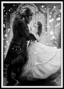 Beauty and the Beast - Graphite Version