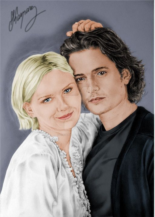 Kirsten Dunst and Orlando Bloom by Life-Is-Art-88