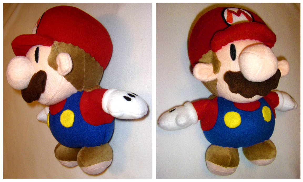 Paper Mario Plush By S2plushies On Deviantart
