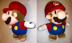 Paper Mario Plush