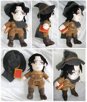 Professor Grabiner Plush by S2Plushies