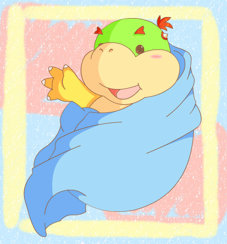 Bowser, the BEST !!! Newborn_Bowser_Jr__c__by_Devicho