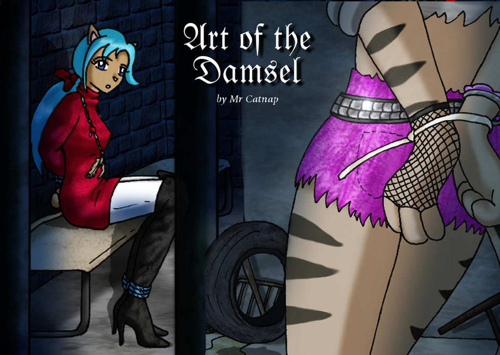 Art of the Damsel Artbook Cover by DamselComics