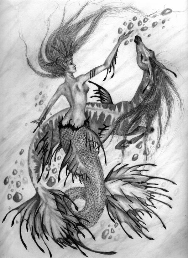 Mermaid by AmandaKathryn on DeviantArt