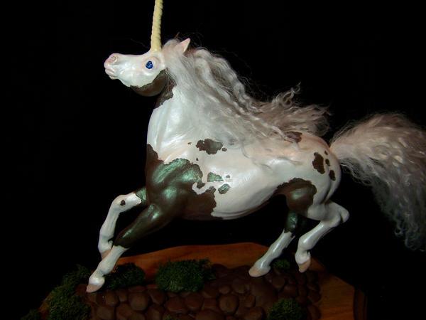 paint horse Unicorn by AmandaKathryn
