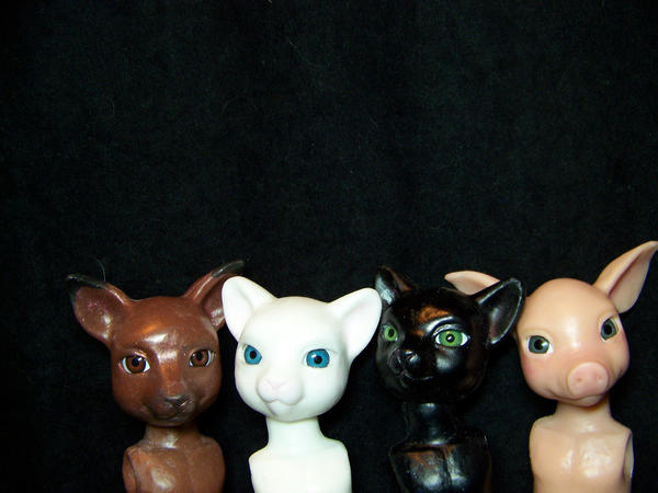 animal BJDs sneak peek by AmandaKathryn