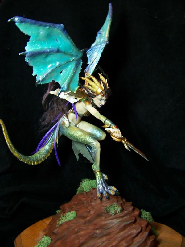 'Tanith' dragon fairy 3 by AmandaKathryn