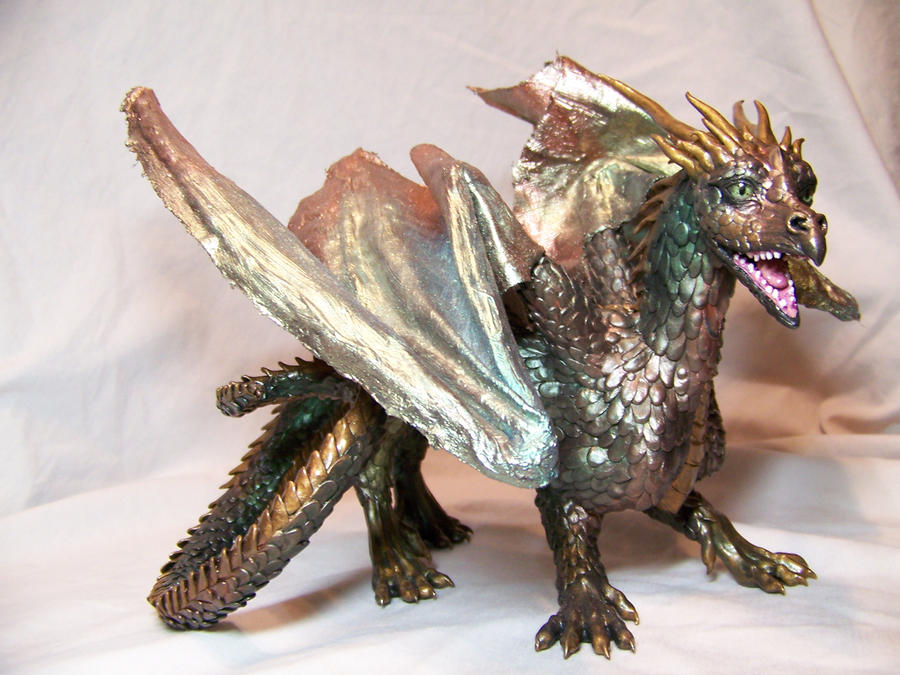 ooak dragon again by AmandaKathryn