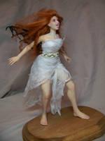 'Garnet' ooak Vampire Fairy by AmandaKathryn