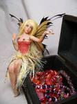 'Tess' treasure chest fairy