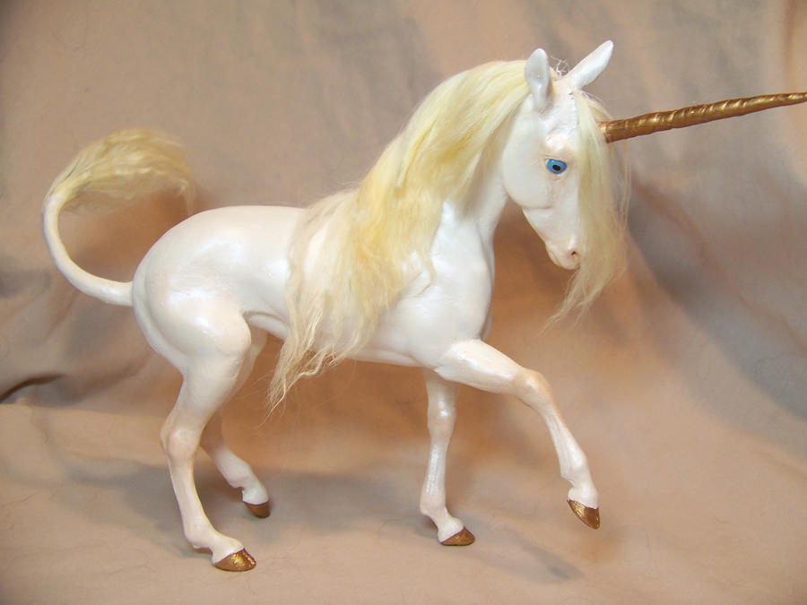 """Promenade""  ooak unicorn by AmandaKathryn"