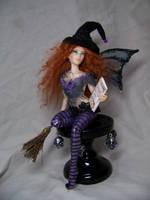 'Matilda'  ooak Witch Fairy by AmandaKathryn