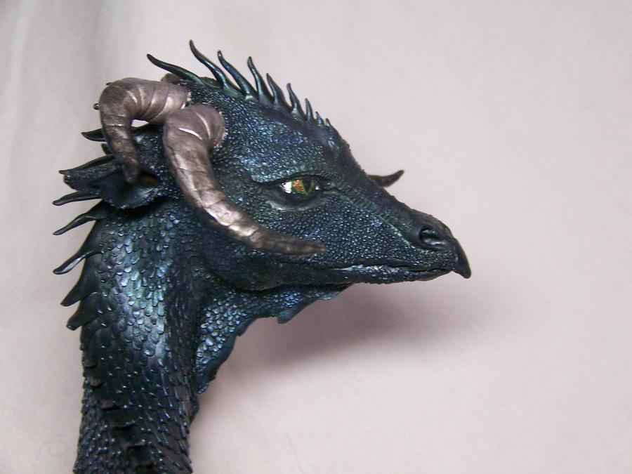 Black Dragon Face