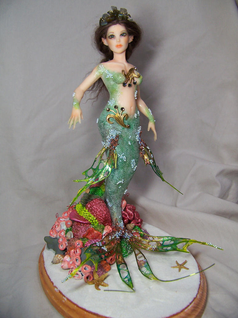 """Asherah""  ooak mermaid by AmandaKathryn"