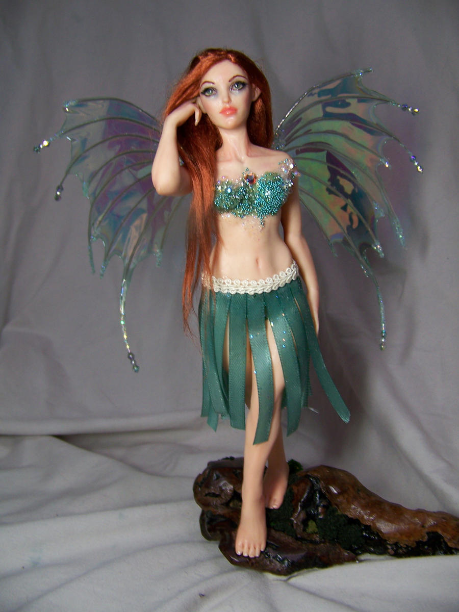 """Chloe"" ooak fairy by AmandaKathryn"