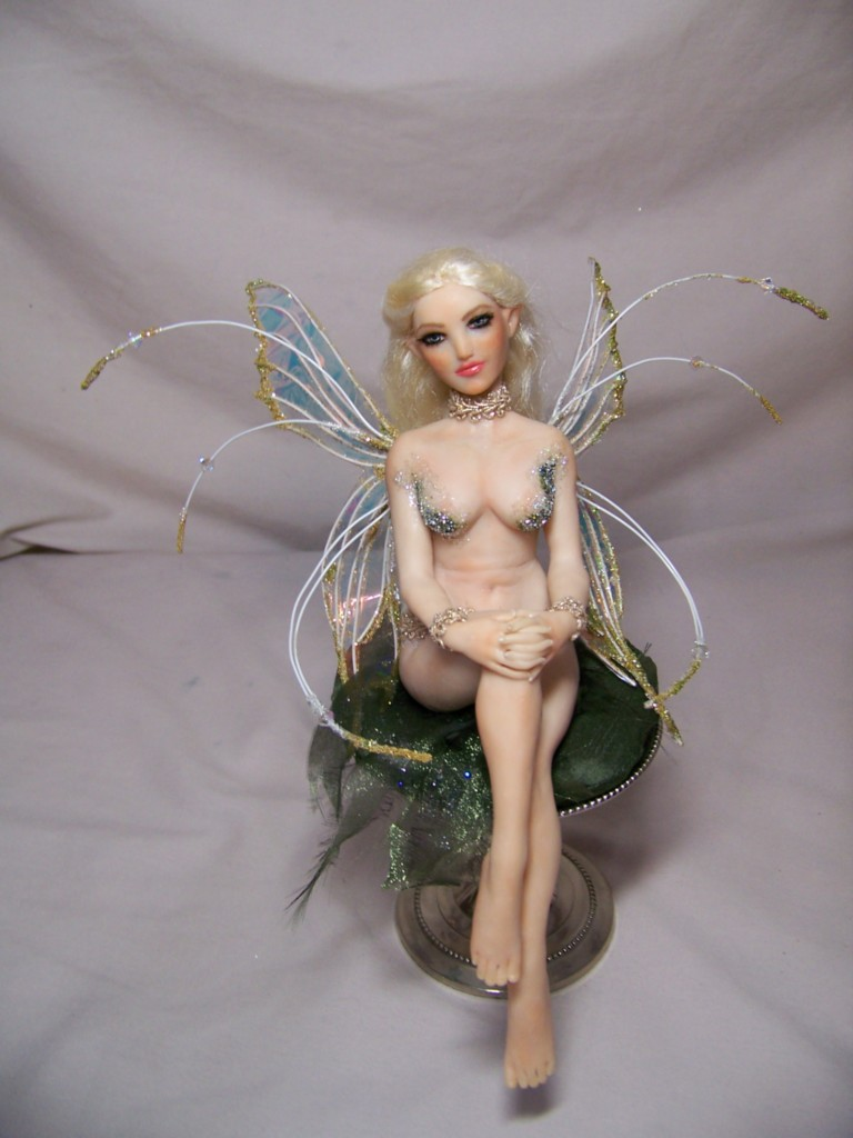 """Angelica"" ooak fairy by AmandaKathryn"