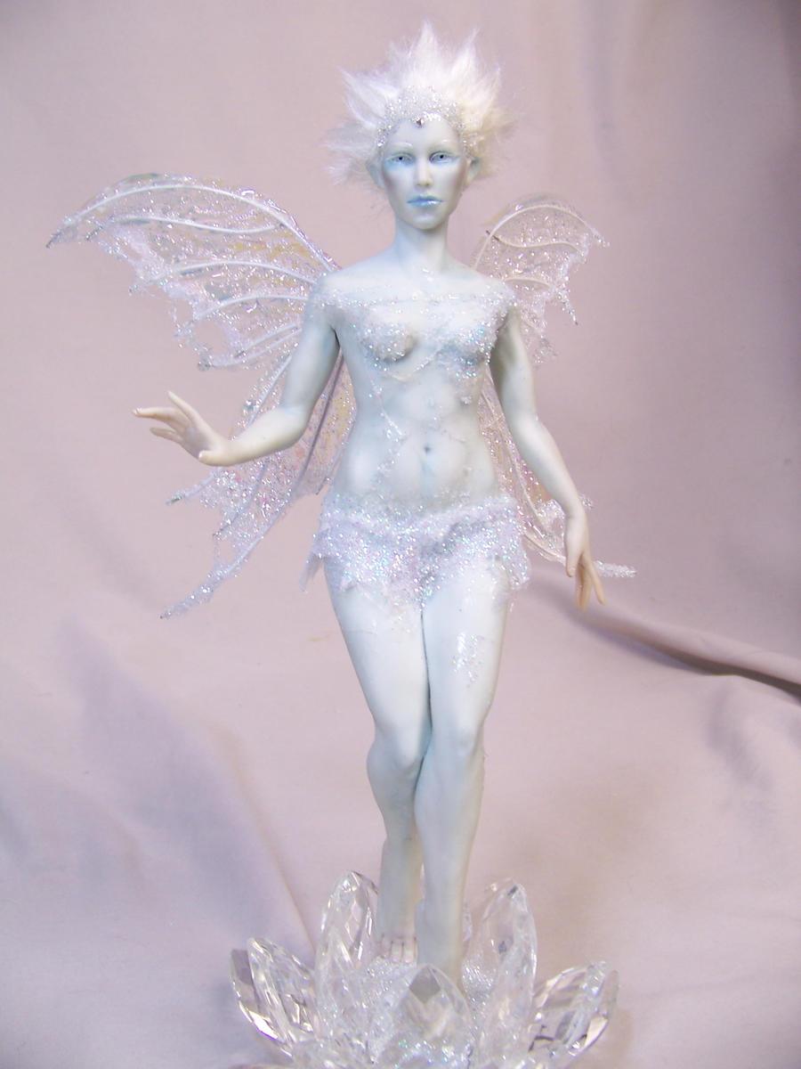 """Morana"" ooak  Ice Fairy by AmandaKathryn"