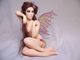 'Viola' ooak fairy by AmandaKathryn