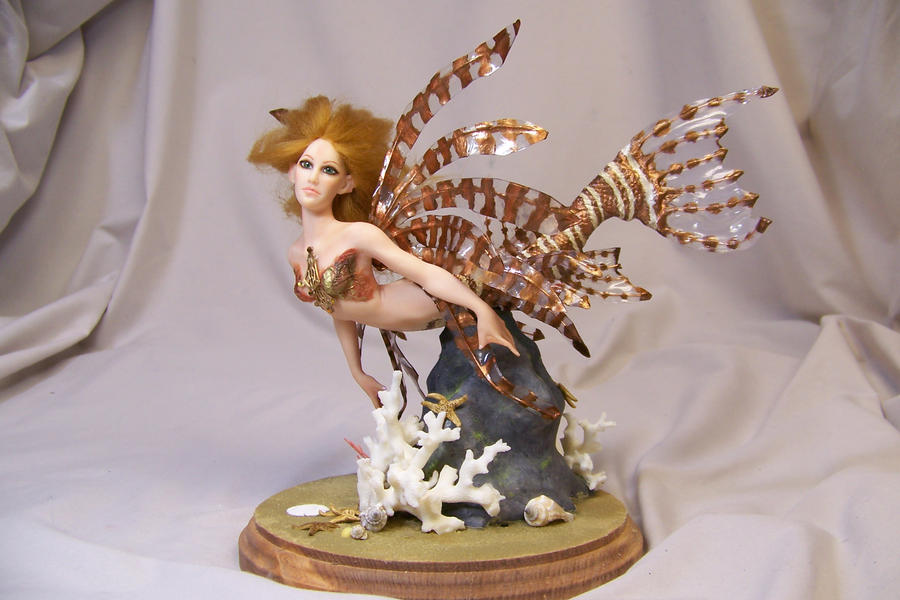 'Kiara' Lion Fish Mermaid by AmandaKathryn