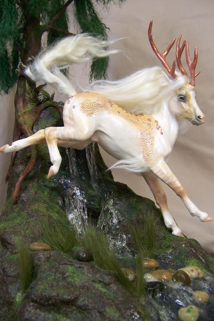 'Haru' Leaping Kirin by AmandaKathryn