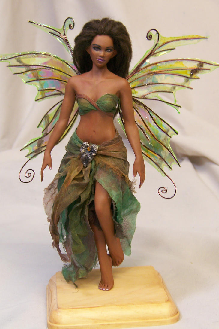 'Gia' OOAK fairy by AmandaKathryn