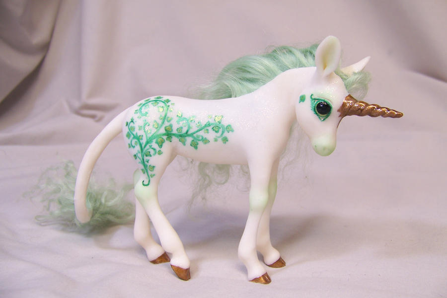 'Devine' ooak unicorn pony by AmandaKathryn