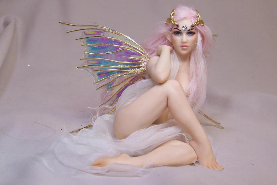 'Celestine' ooak fairy by AmandaKathryn