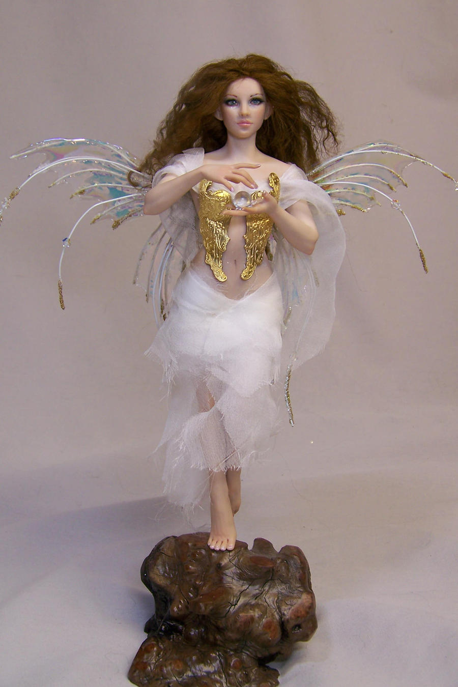 'Evangeline' ooak fairy by AmandaKathryn