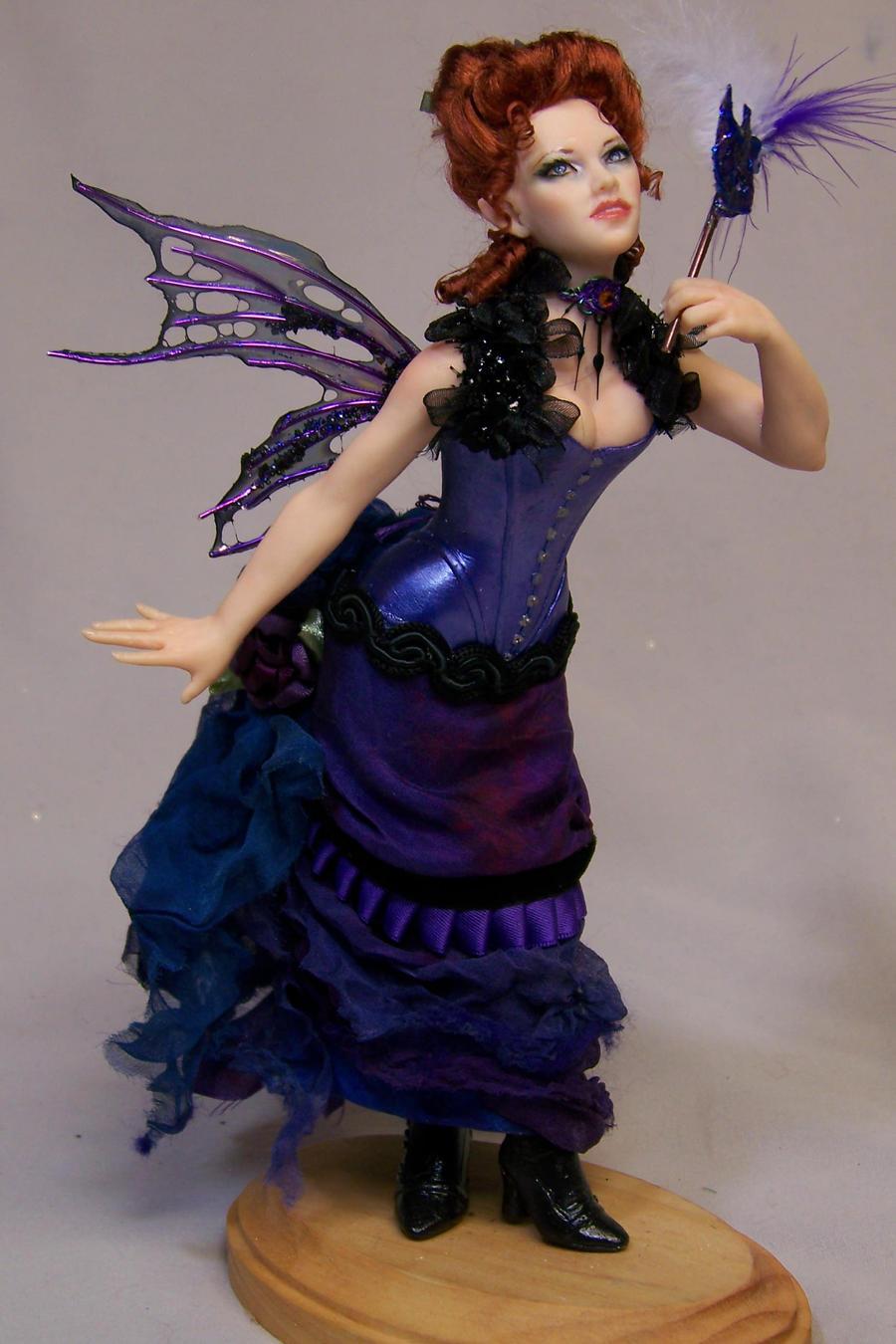 'Jessica' steampunk masquerade fairy by AmandaKathryn