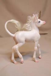 'Chastity' baby unicorn by AmandaKathryn