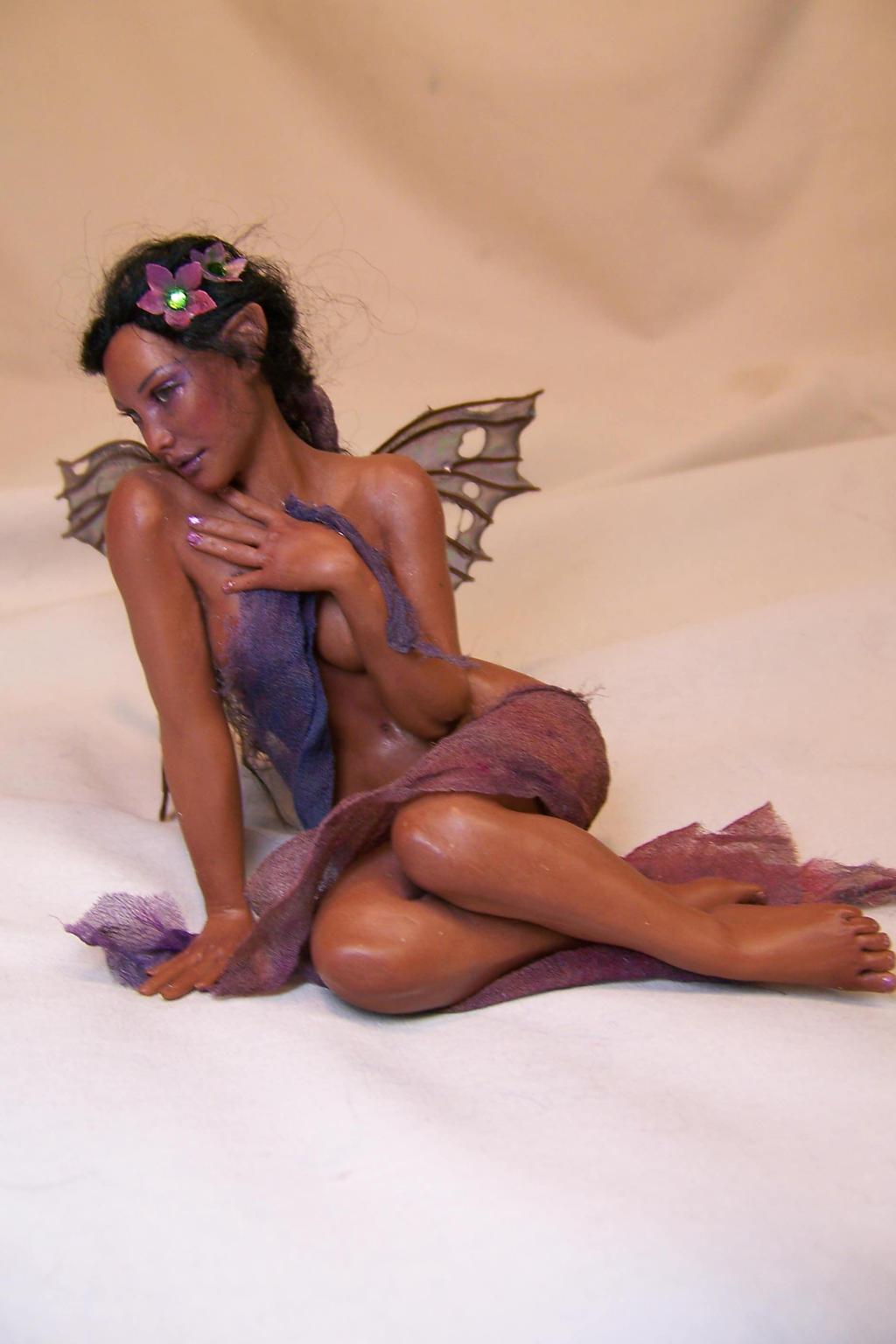 'Rosaleen'  ooak fairy by AmandaKathryn
