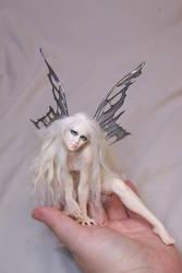 'Nessa'  wild fairy by AmandaKathryn
