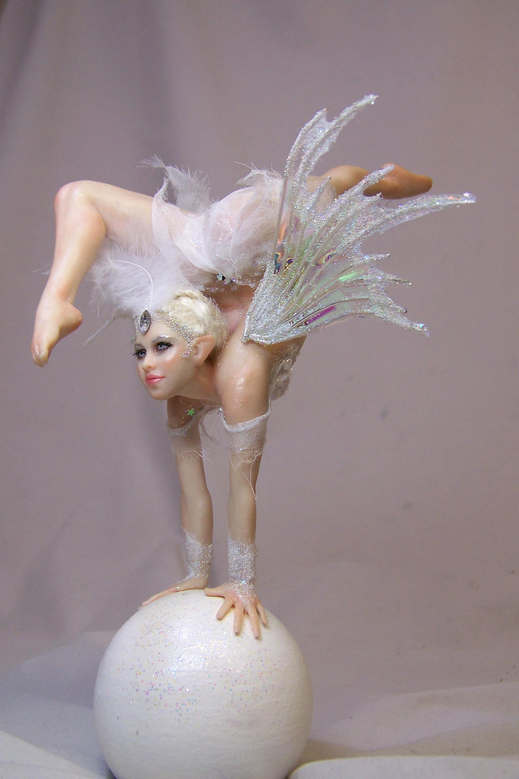 Timea: contortionist fairy by AmandaKathryn