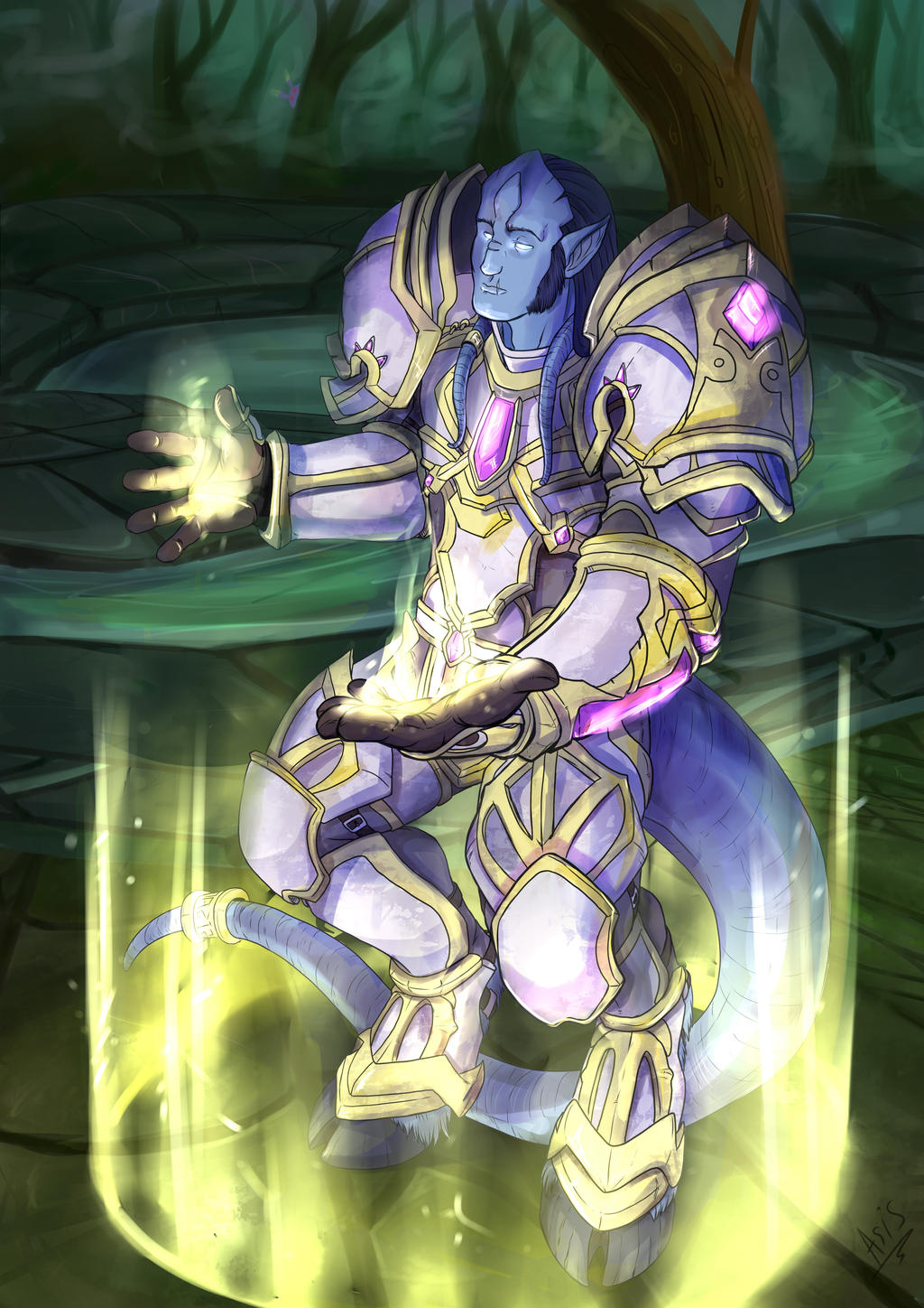 Tentacle draenei nackt images