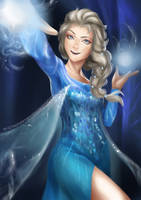 The Snow Queen, Elsa by TheCharismaPandaXD