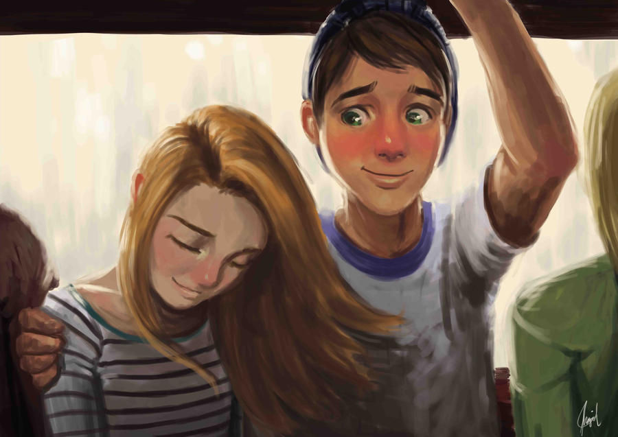 Love on the Jeepney by TheCharismaPandaXD