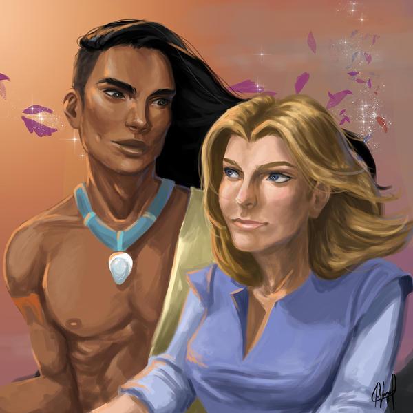 Speedpainting: Pocahontas Genderbend by TheCharismaPandaXD